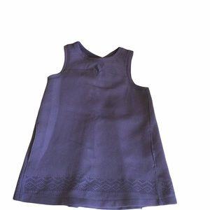 Ivivva Lululemon Purple Laser Cut Sleeveless Top